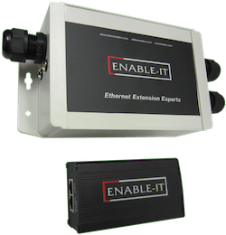 Enable-IT OUTDOOR IP67 RATED GIGABIT POE EXTENDER